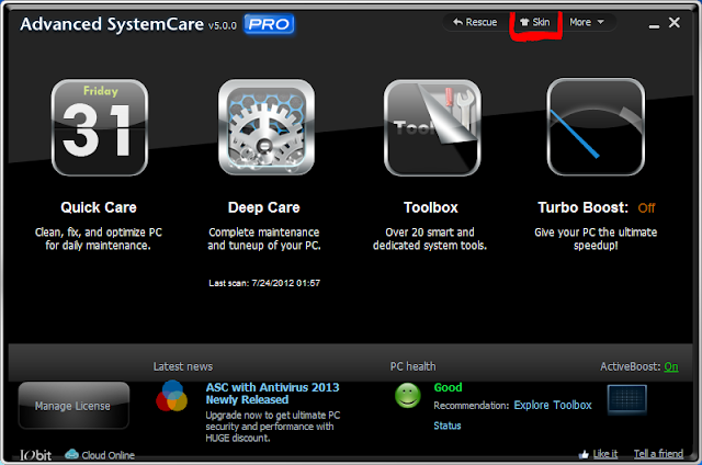 Advance Systemcare 5 Pro Screenshots