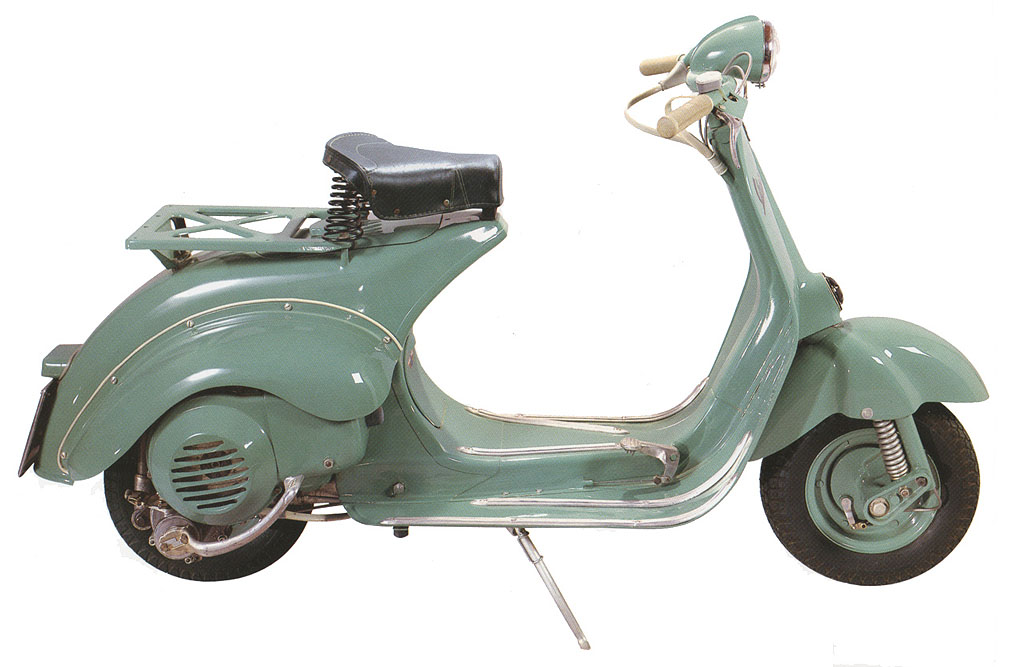 vespa 125 u 1953 vespa scooters. Black Bedroom Furniture Sets. Home Design Ideas
