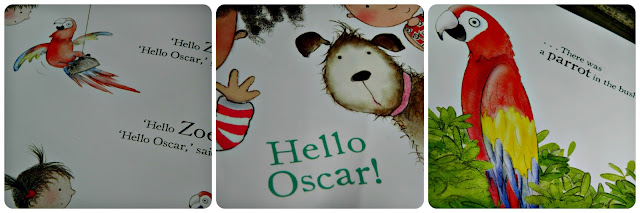 Zoe & Beans Hello Oscar Picture Book