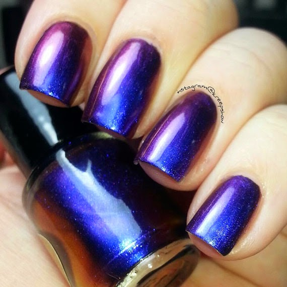 Just J: Duochrome nail polish from IndiePolish