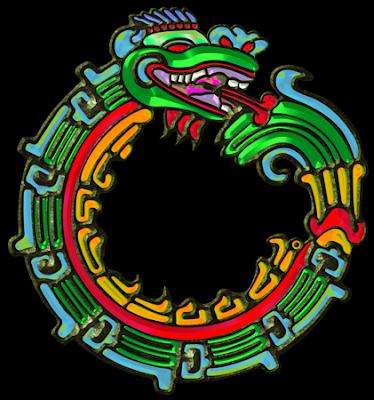 Sacred Symbols 3D: Quetzalcoatl: Aztec Serpent-God