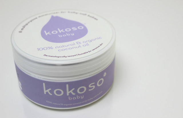A picture of natural Kokoso Baby Coconut Oil