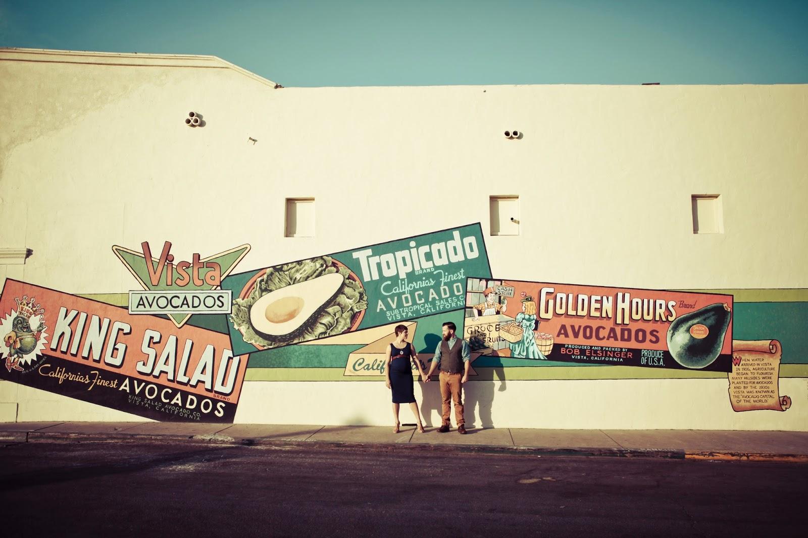 Latte Love San Diego Maternity Photos | Photographs by Anjuli