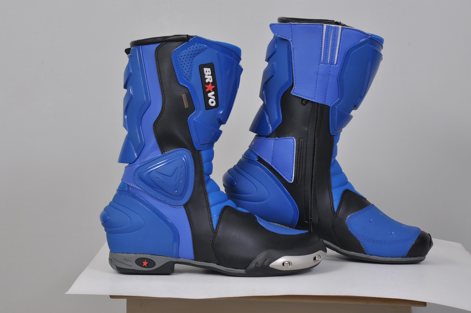 motorcycle boots and wearing accessories
