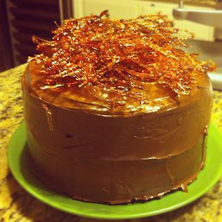 Annie S Eats Salted Caramel Chocolate Cake
