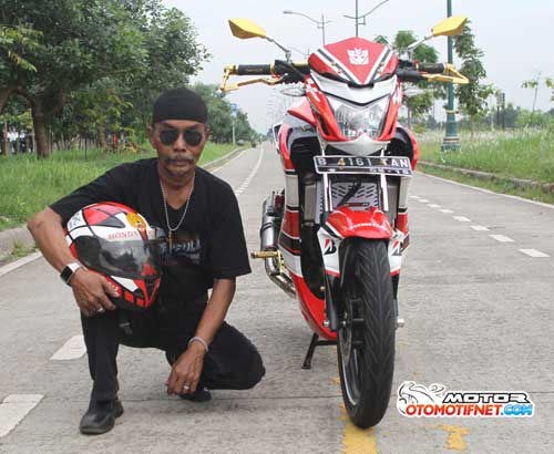 New Modifikasi Honda CB150R Street Fire