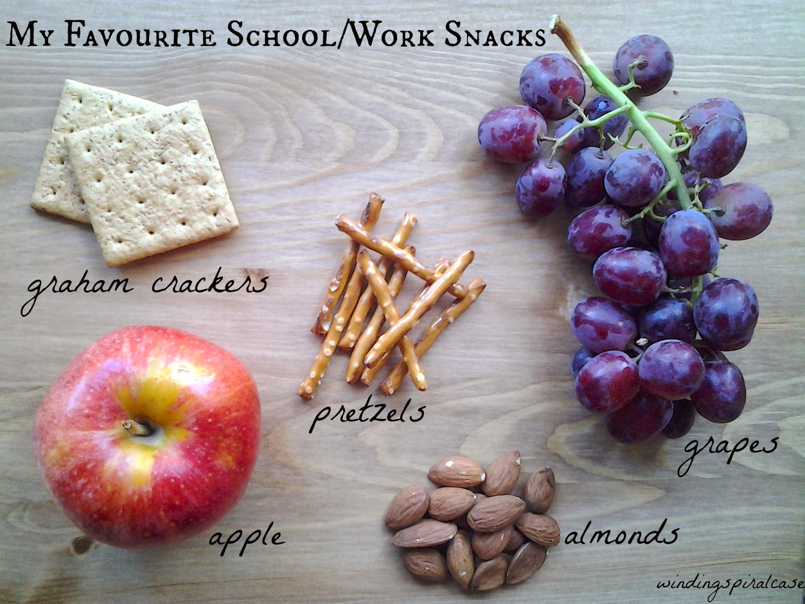 work school snacks