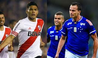 River  plate vs Cruzeiro, Copa Libertadores