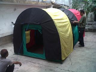 tenda dome, jual tenda dome, harga tenda dome, produksi tenda dome, tenda dome murah