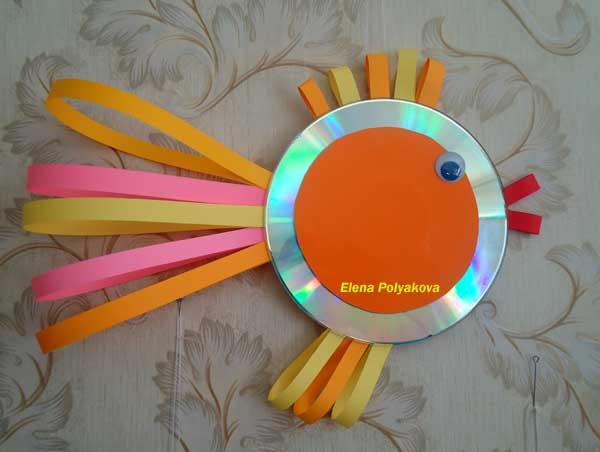 Интересные поделки своими руками из дисков