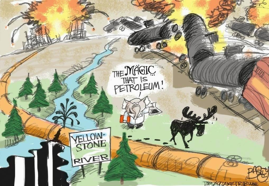 Pat Bagley: The Magic that is Petroleum.