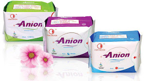 Love Moon Anion Sanitary Napkins / Pads
