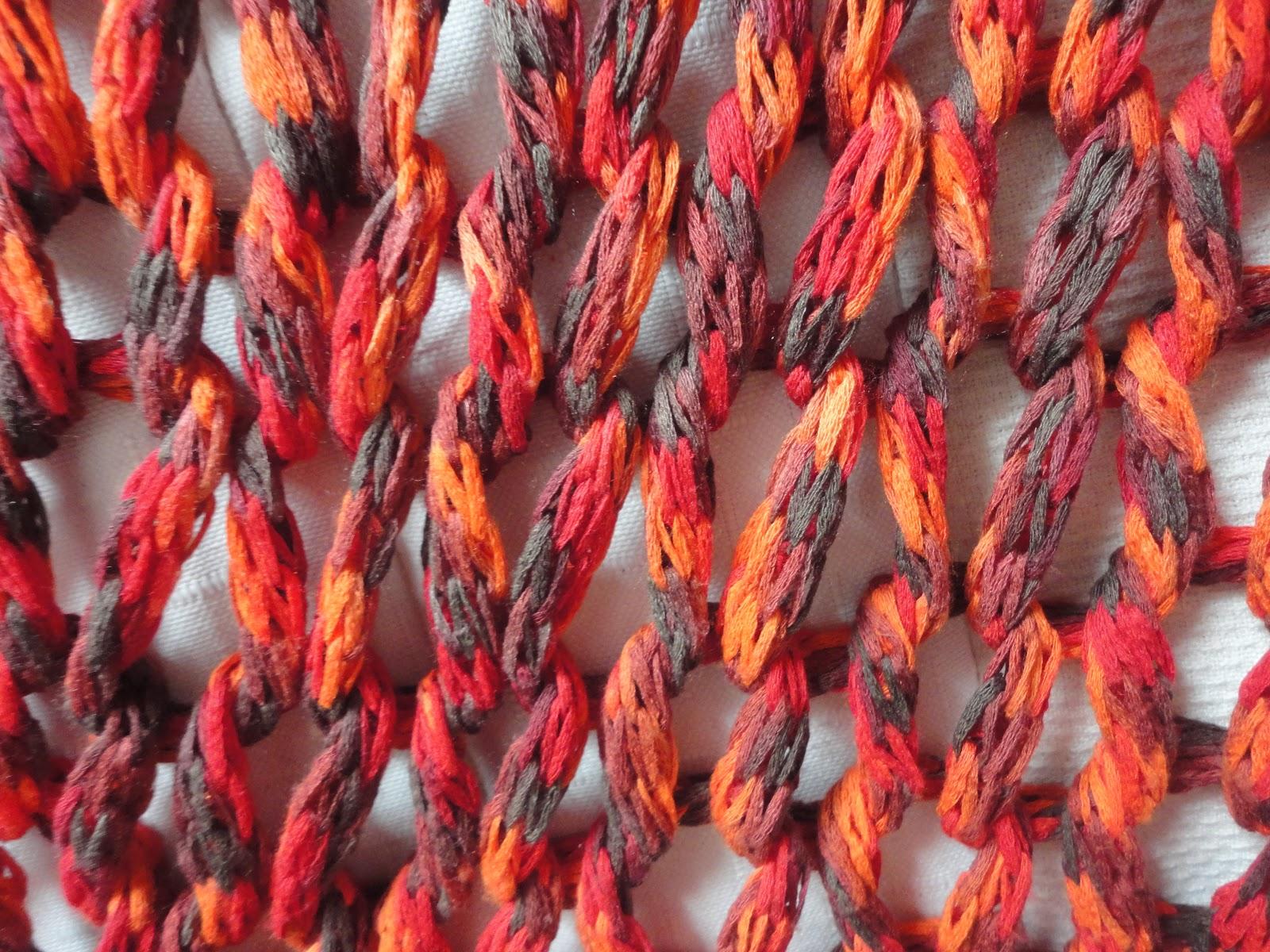Mis labores chaleco de punto muy abierto - Puntos de agujas de lana ...