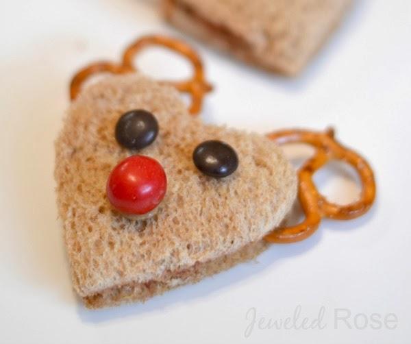 Reindeer sandwiches- YUMMY!