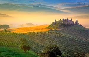 Tuscany Italy Pemandangan Terindah di Dunia