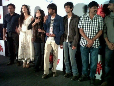 Film 3 Audio Launch Stills