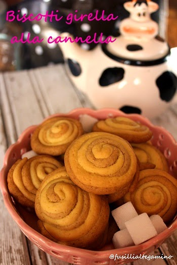 biscotti girella alla cannella