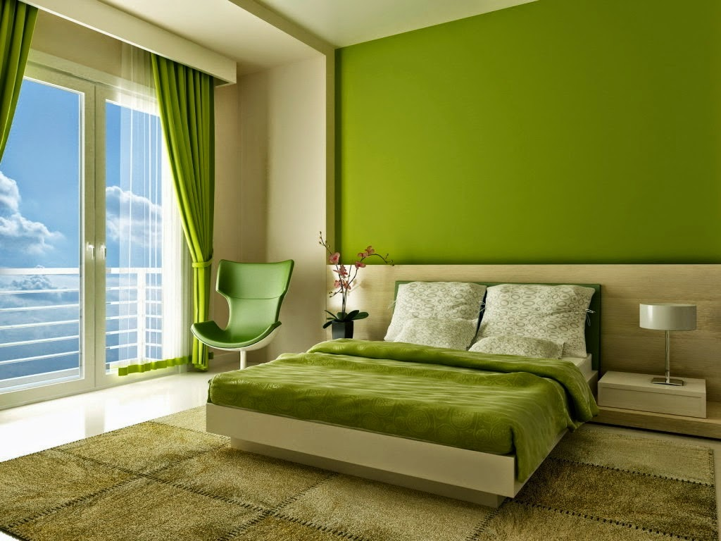 Warna kamar minimalis elegant