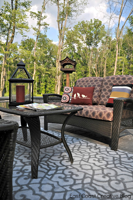 inexpensive outdoor rug