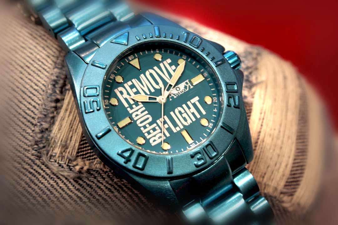 San Valentín, relojes, Aviador, Remove Before Flight, RBF Young, Aviador Watch, Suits and Shirts, complemento,