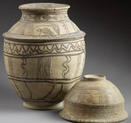 Ancient Near East Jasper Cylinder Seal Warka Vase Hieroglyphs