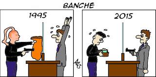 Banche, obbligazioni, consulenza finanziaria, satira vignetta