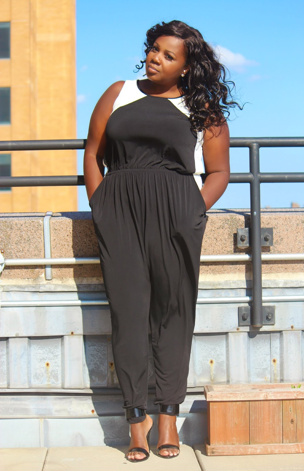 All Jumpsuits For Fashion To Figure plus size jumpsuits sandee