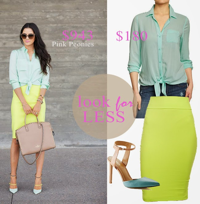 Hammer & Heels | Look for Less: Color Block