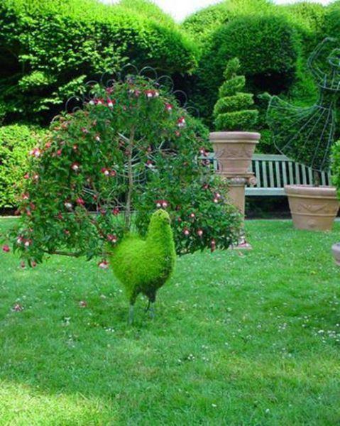 sacadas de cuentos de adas y jardines encantados se necesita realmente tener talento y sapiencia para hacer estas fantsticas esculturas vivientes