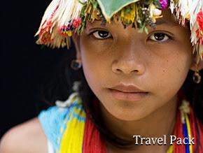 תרבות ומסורת..ילדה אינדונזית
