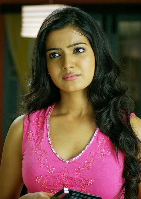 Samantha In Pink Top