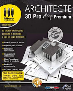 Architecte 3d pro arcon 15 premium keygen crack for Architecte 3d avec crack