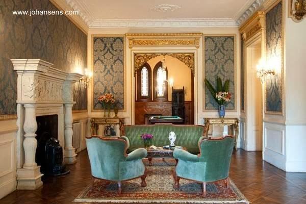 Sala de estar en el Castillo La Candelaria