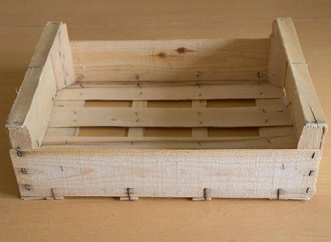Fruteria Recicladecoración cinco usos para cajas de fruta de madera