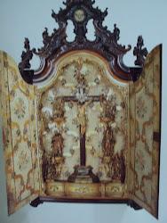 ORATÓRIO  com filete de ouro  séc. XVIII