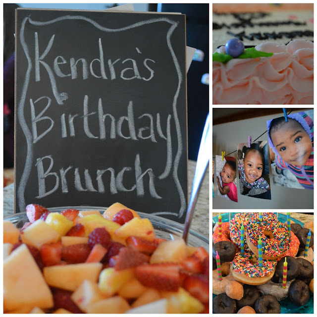 Birthday Brunch for 1-year Old
