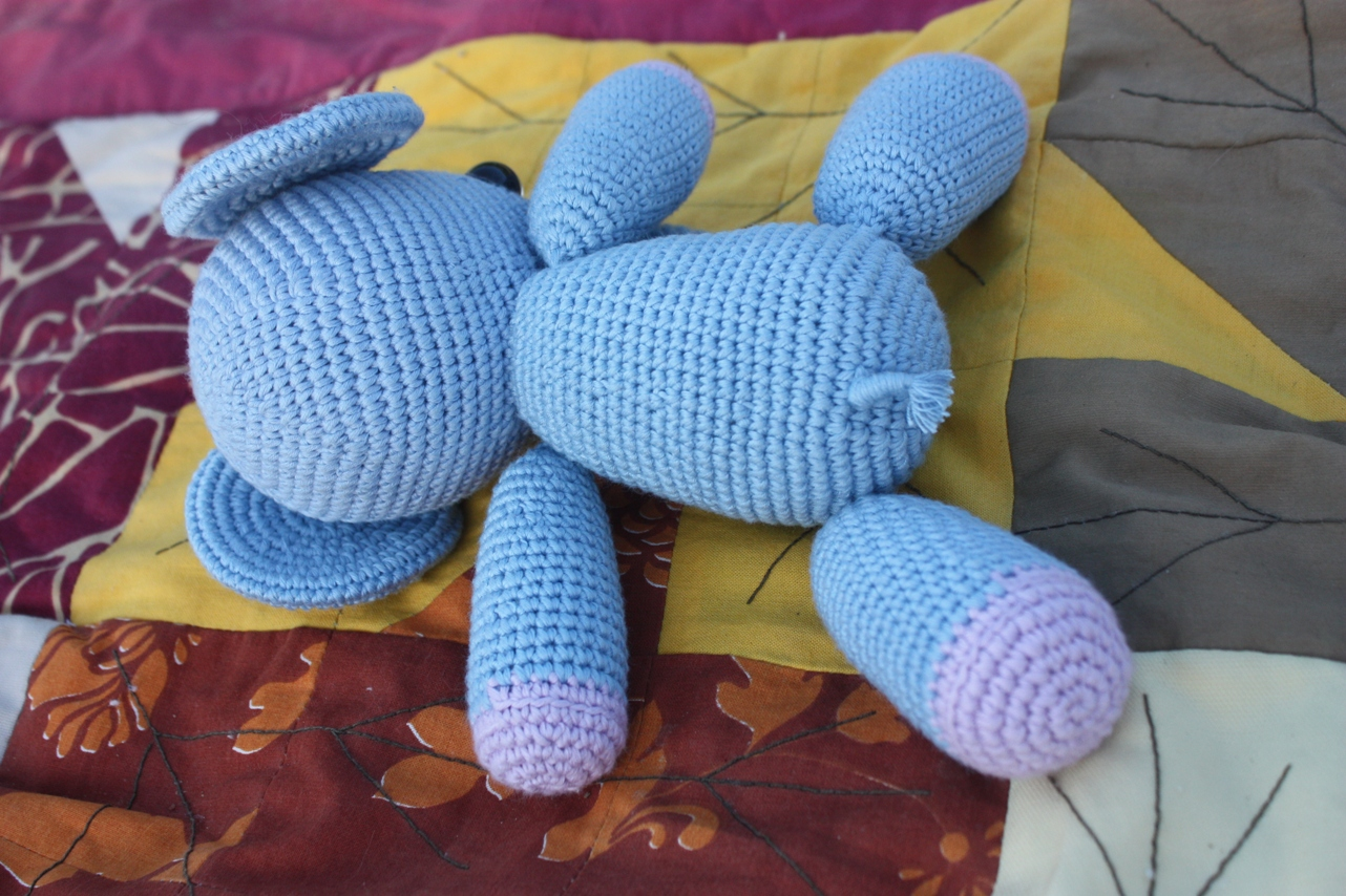 Amigurumi Crochet Patterns Elephant : HAPPYAMIGURUMI: Amigurumi Elephant Pattern