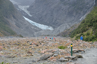 Valley at Franz Josef Glacier