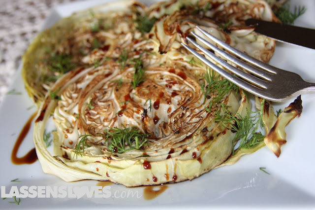 roasted+cabbage, cabbage+recipes, balsamic+roasted+cabbage