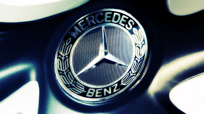 mercedes benz logo wallpaper
