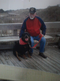 Old Photo of Skip and Gloria's Fairchild at beach
