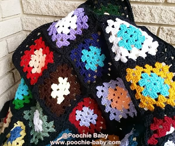 How to make a granny square blanket