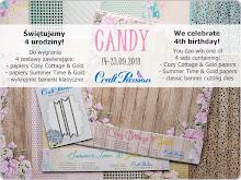 Candy z okazji 4 urodzun Craft Passion