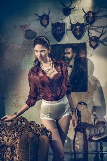 Maria Flávia HQ Pictures Elle Brazil Magzine Photoshoot February 2014