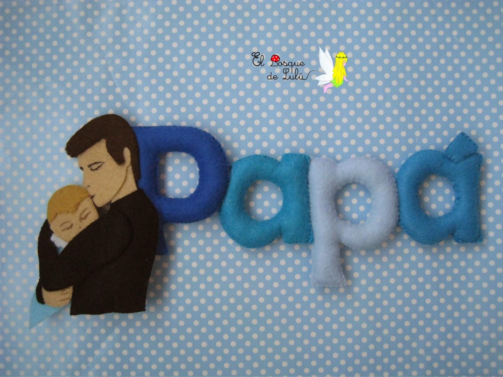 letrero-fieltro-regalo-dia-padre-detalle-original-personalizado