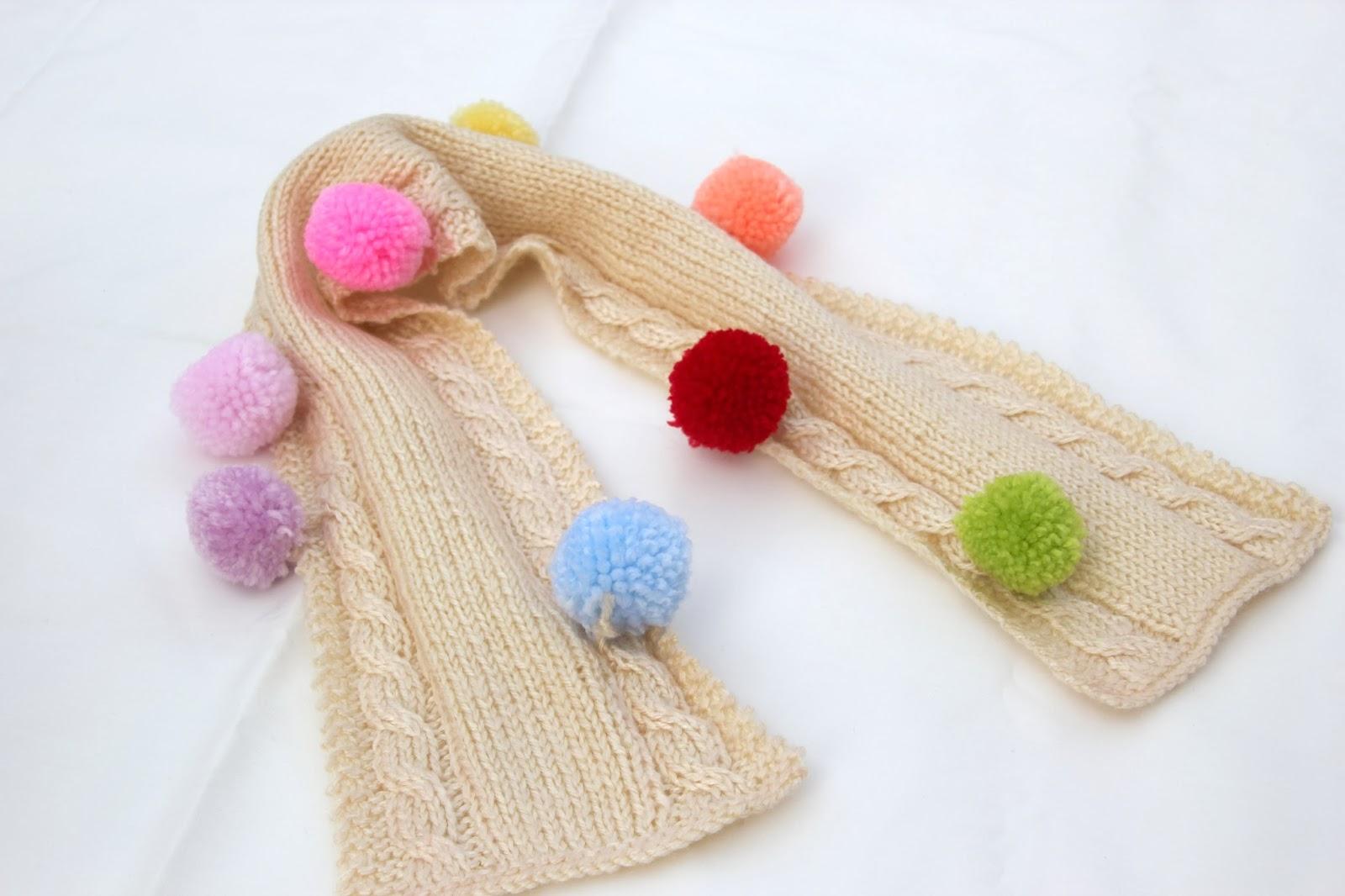 DIY Como hacer una bufanda para niños de 2 o 3 años | | Oh, Mother ...
