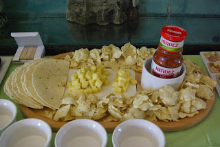 Cheese sampler and taco ingredient!