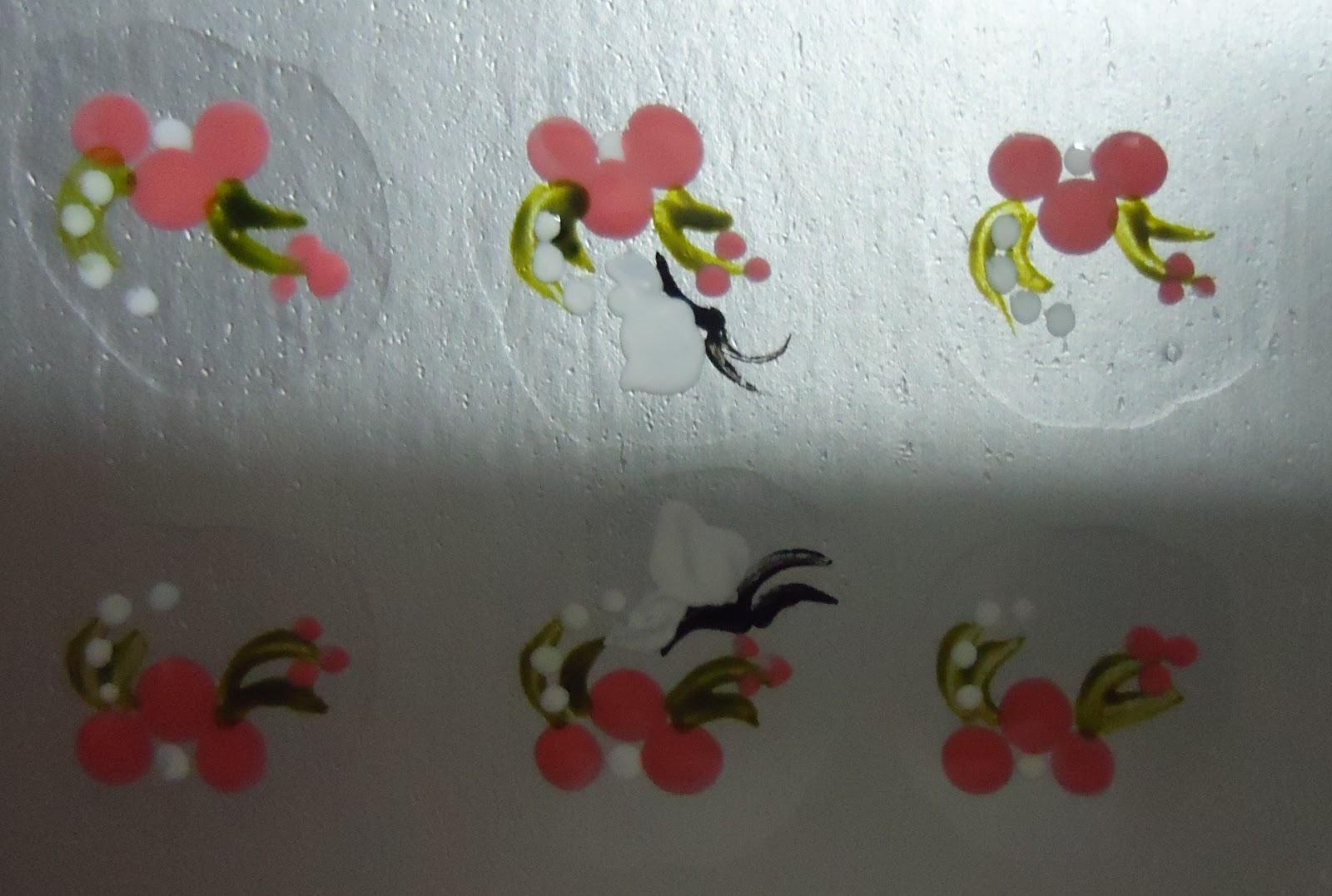Armario Indoor Barato ~ Beleza das unhas Adesivo artesanal de unhas abelhas