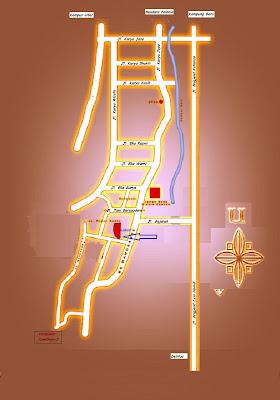 Peta Lokasi Taman Harapan Permai