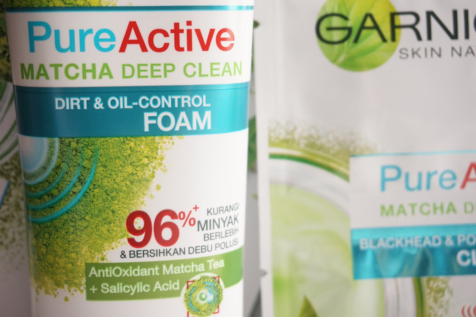 Jual Murah Garnier Pure Active Acne Oil Clearing 100ml Terbaru 2018 Matcha Deep Clean 50ml Series Stevie Wong Each Tube Consist Of 100